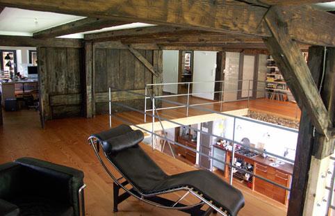 martin focks architekten umbau schwarzwaldbauernhaus. Black Bedroom Furniture Sets. Home Design Ideas